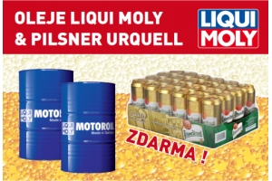 Oleje LIQUI MOLY & PILSNER URQUELL