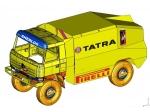 Dakar 2008 s novou tatrou