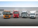 Daimler pro rozvážkovou službu