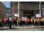 Dopravci protestovali proti ochranářské politice
