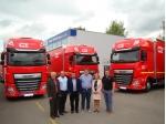 CEE Logistics důvěřuje značce DAF