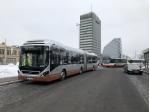 Dopravní podnik hl. m. Prahy ukončil provozní test hybridního autobusu Volvo