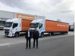 Gebrüder Weiss přidává nové nákladní vozy na plyn