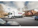 Elektrifikovaná vozidla Scania ve službách ASKO