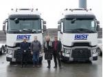 Úspěšná spolupráce: Renault Trucks a Best Transport a.s.