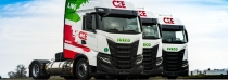 CEE Logistics představuje vozidla s pohonem na LNG