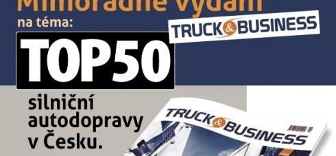 """""""TOP 50"""" bude zrcadlem odvětví silniční autodopravy..."""