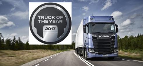 Truck roku nese značku Scania