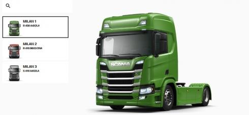 On-line konfigurátor Scania