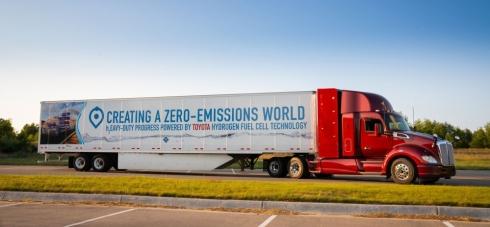 PACCAR ukazuje svou vizi silniční autodopravy na CES